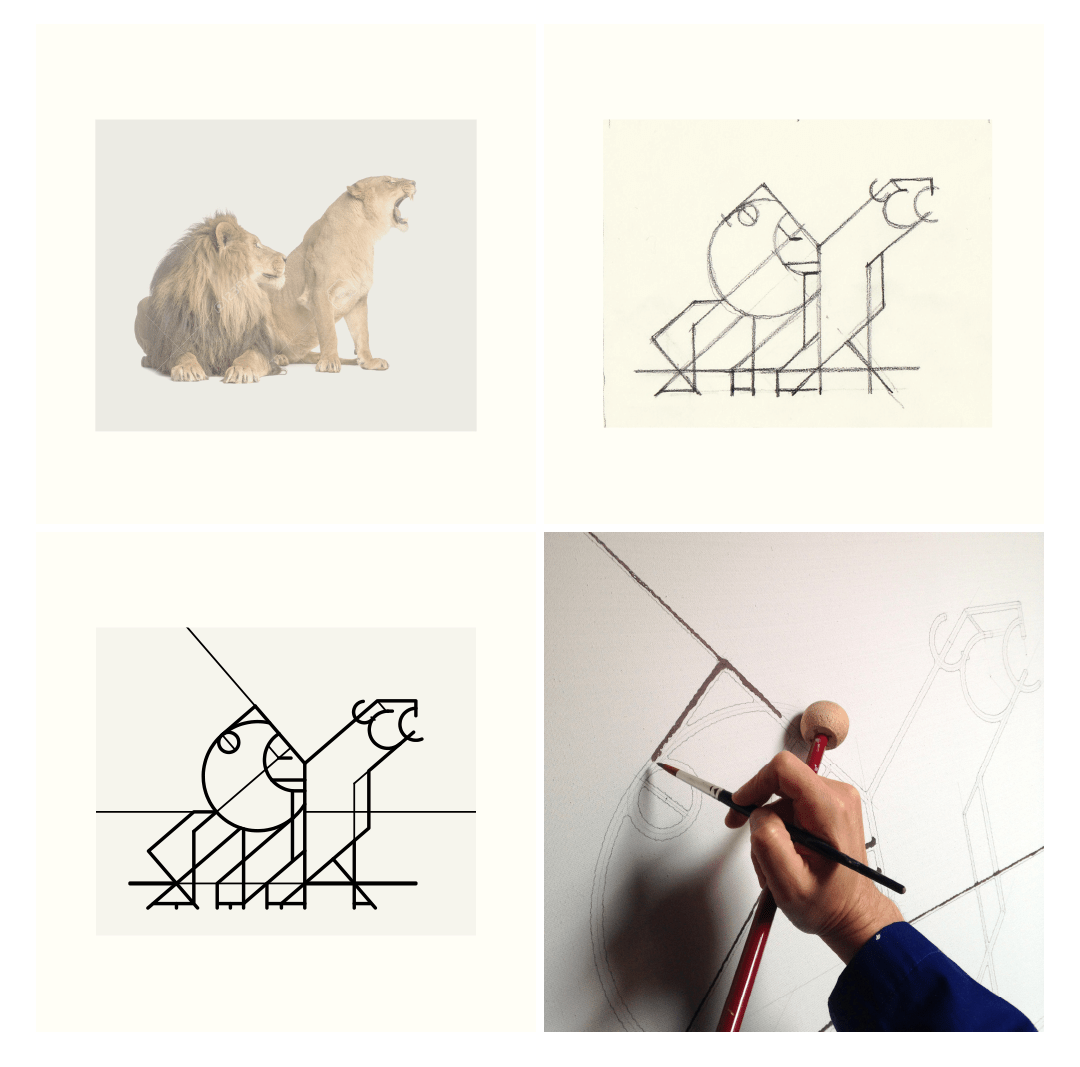 electric fauna_lion&lioness_portolio_3