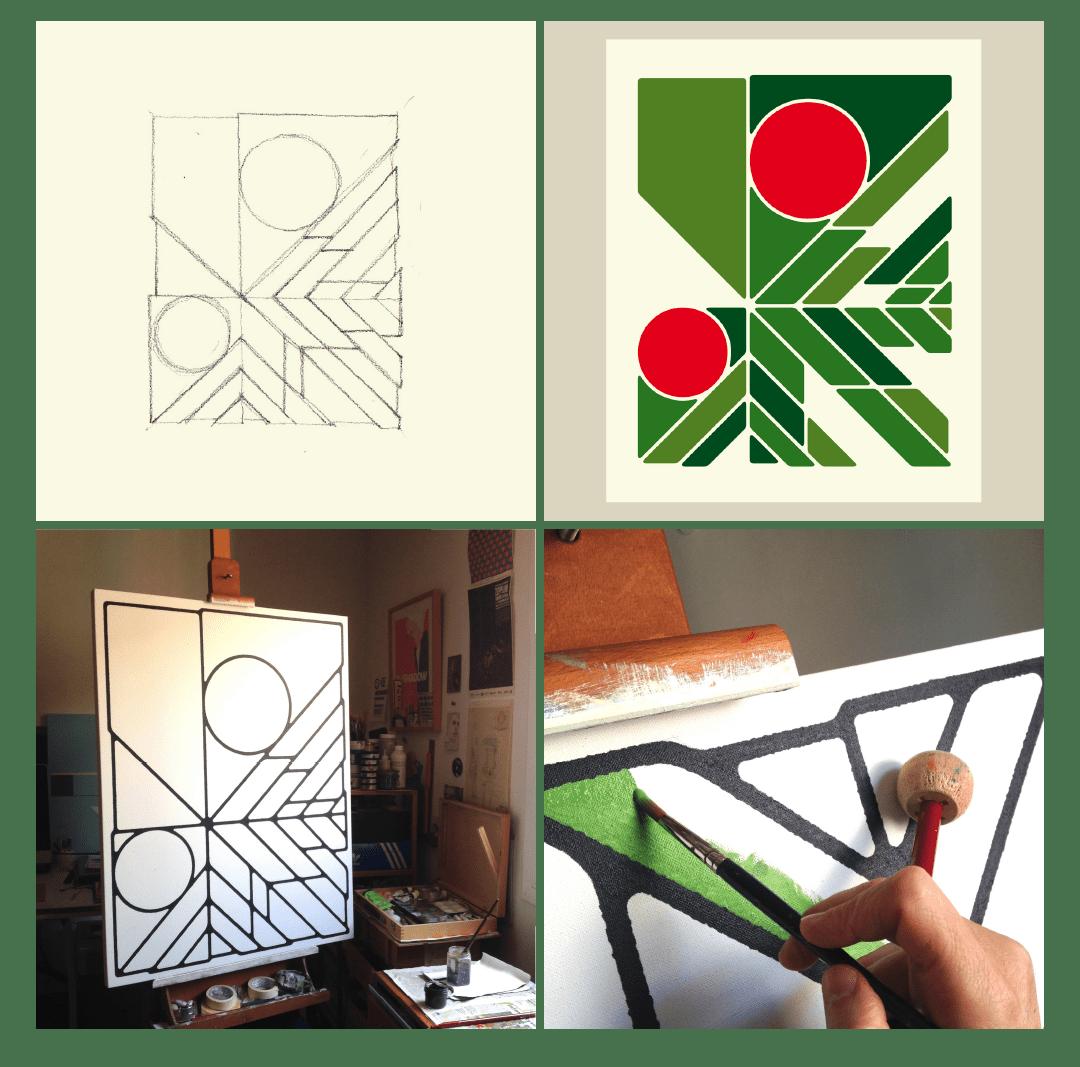 geometric flora_fragaria_porfolio_3